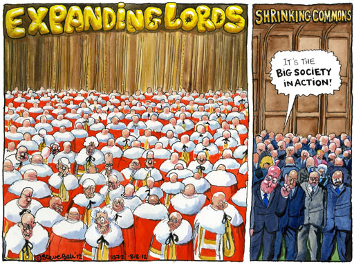 08.08.12 Steve Bell on Lords reform and boundary changes