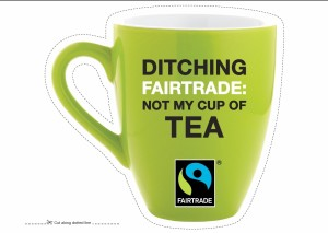 Fairtrade grren mug