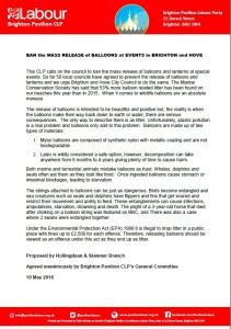 Ban Mass Release Balloons_10.05.18