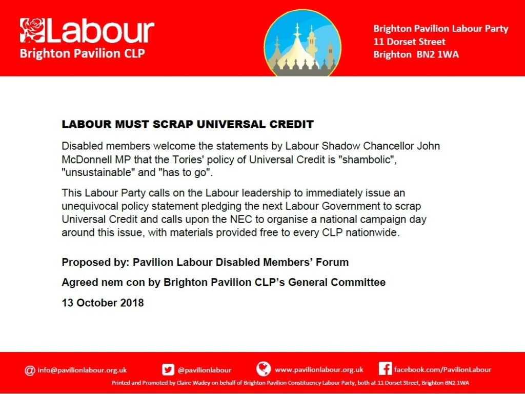 Labour must scrap UC_13.10.18