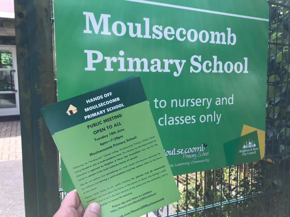 Moulsecoomb flyer