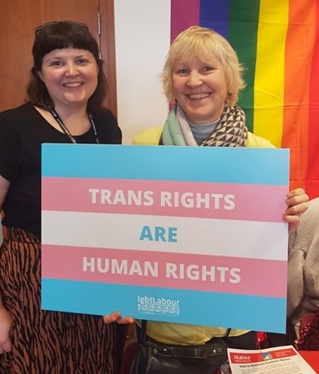 Trans rights are human rights c2