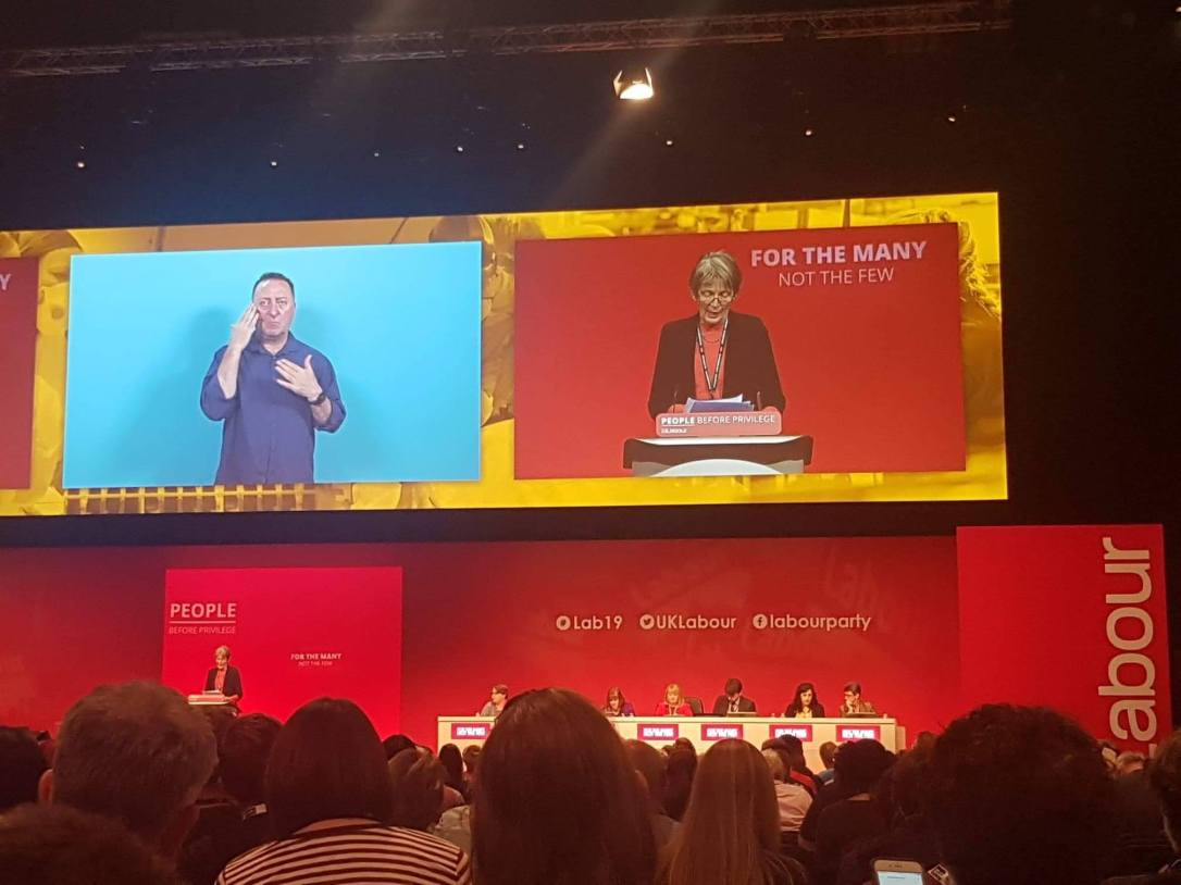 VK speaking at #Lab19