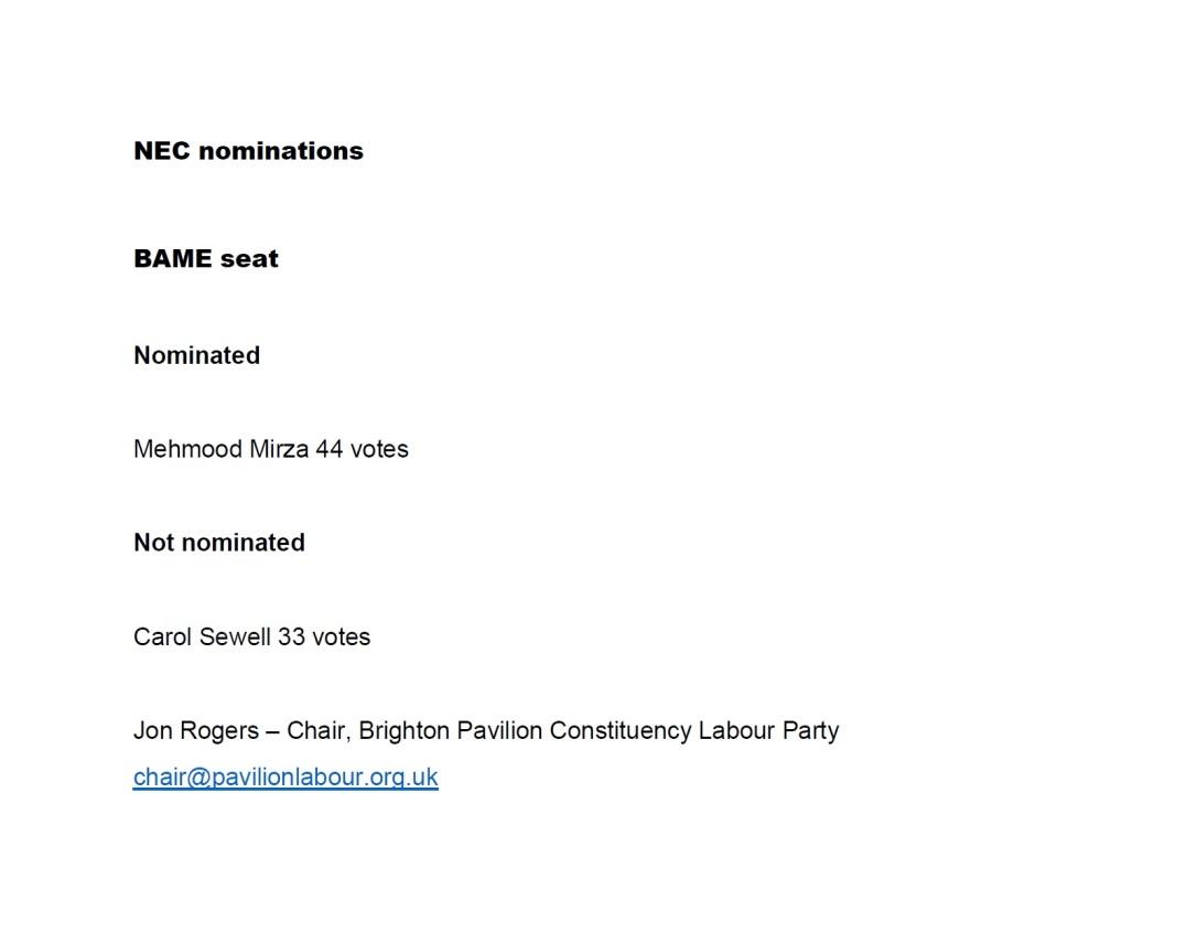 LE20_Pav NEC_BAME nom results_08.02.20
