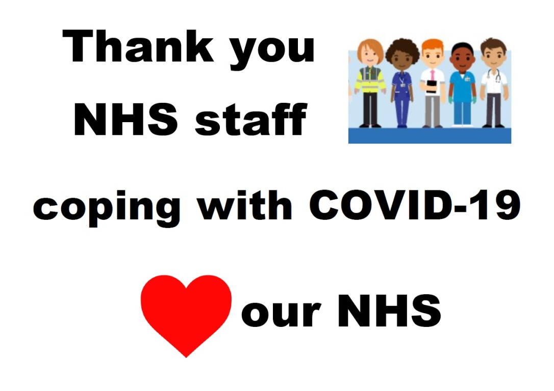 NHS staff solidarity
